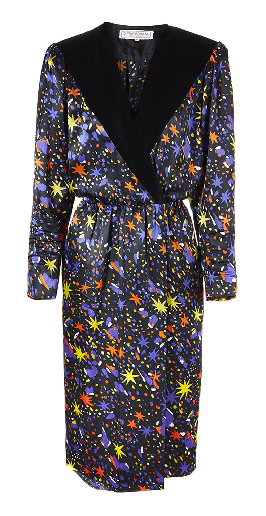 Vintage Yves Saint Laurent Celestial dress from BOP by DOP