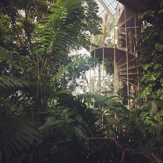 Palm House Kew Gardens, via A Ranson Note nicolaranson