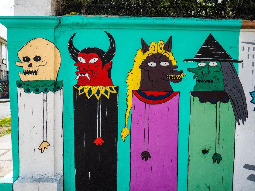 Mural in San Jose, Costa Rica